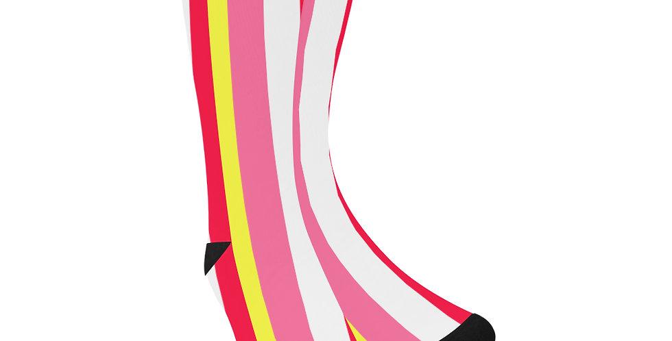 Summer Stripes - Unisex Socks (Made in Australia)