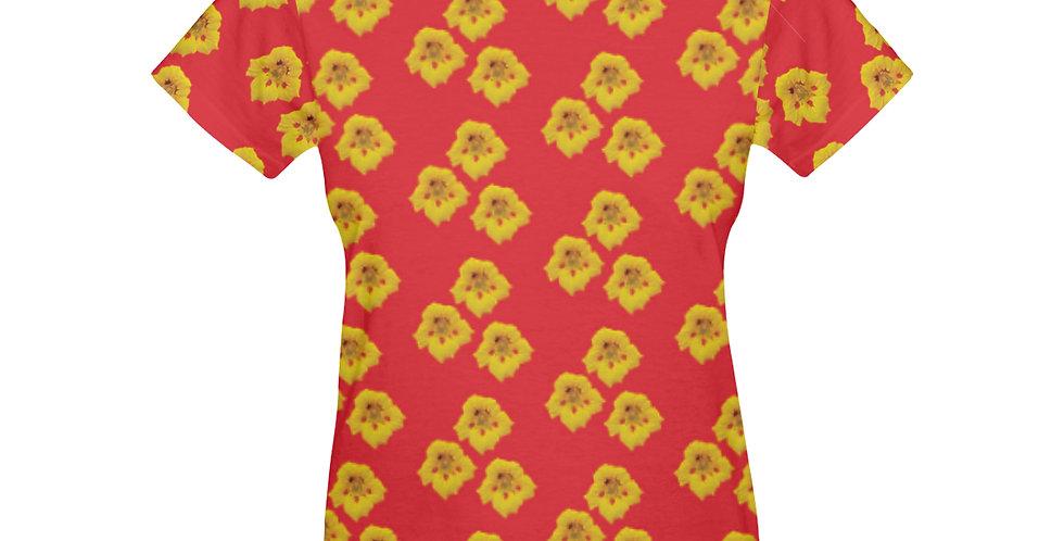 Ladybug Nasturtium - T-Shirt
