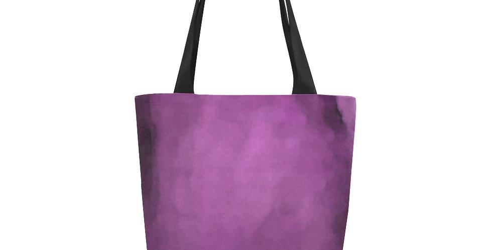 Rainbow Iris Washed Pink - Tote Bag