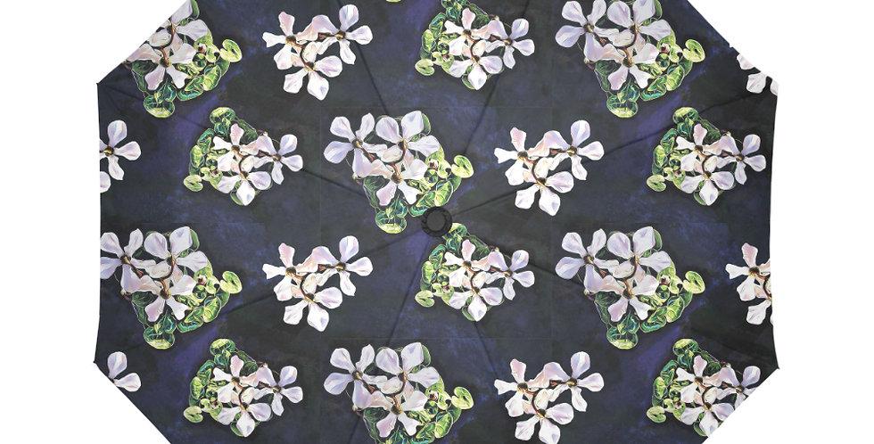 Cyclamen Swirl (small print) - Botanical Umbrella