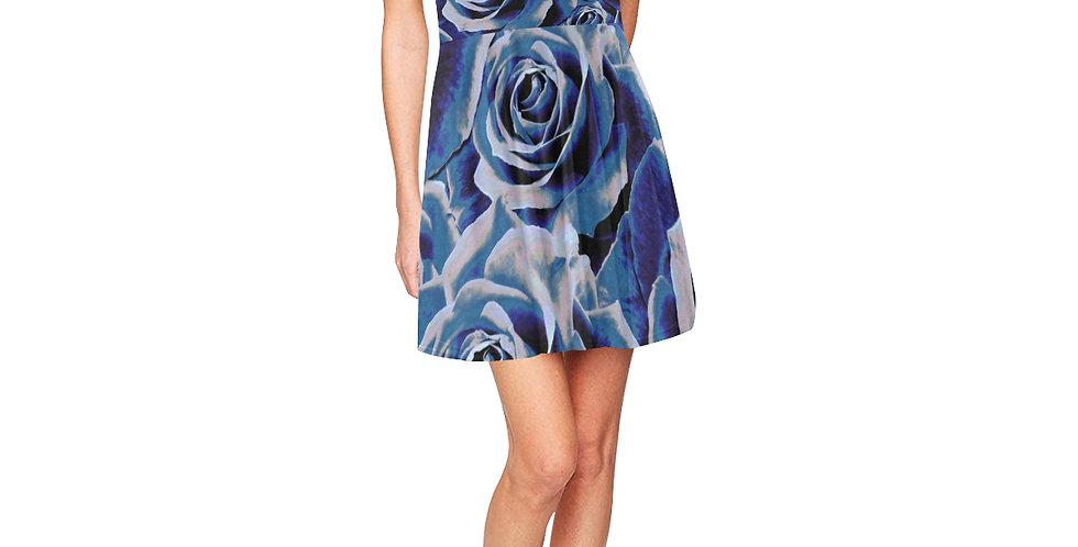 Gypsy Rose Persian Blue - Skater Dress