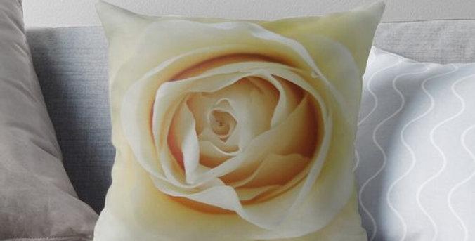 White Rose - Cushion Cover