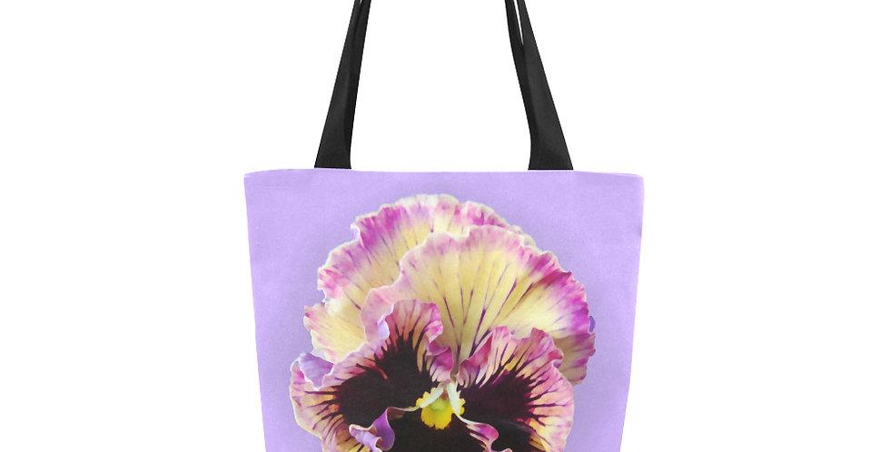 Ruffled Pansy - Tote Bag