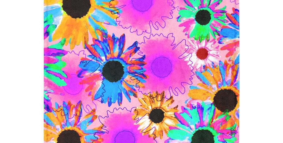 Wildflower - Bright Pink - Blanket