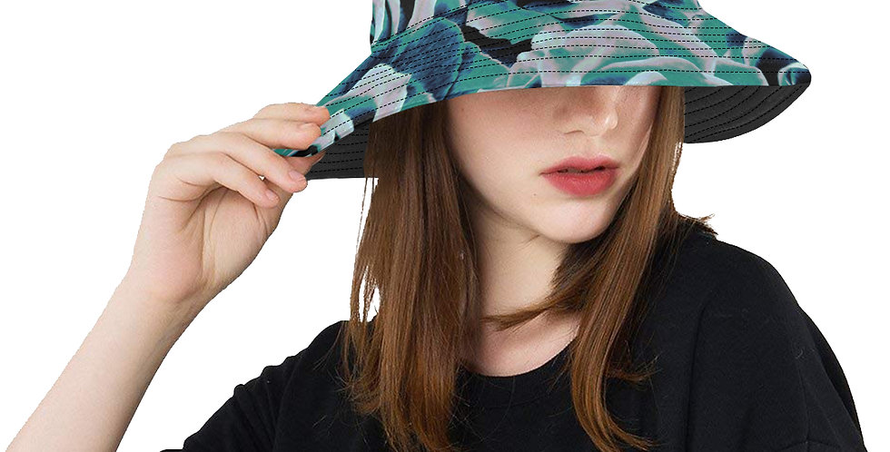 Gypsy Rose Stormy Skies - Bucket Hat