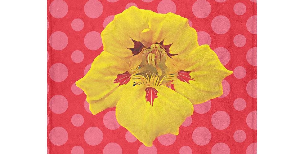 Ladybug Nasturtium (Boarder) - Blanket