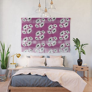 bunch-of-daisies-pink-small-print-wall-h