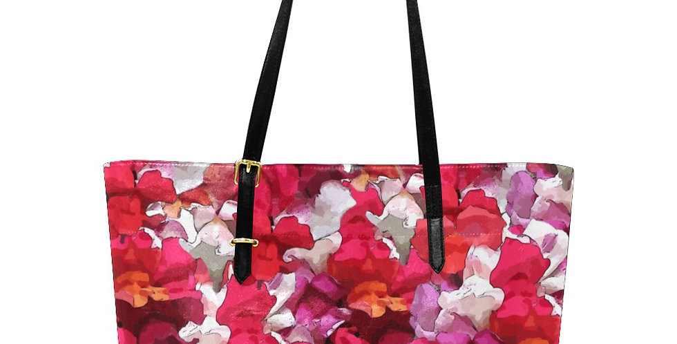 Snappy Red - Large Tote Bag