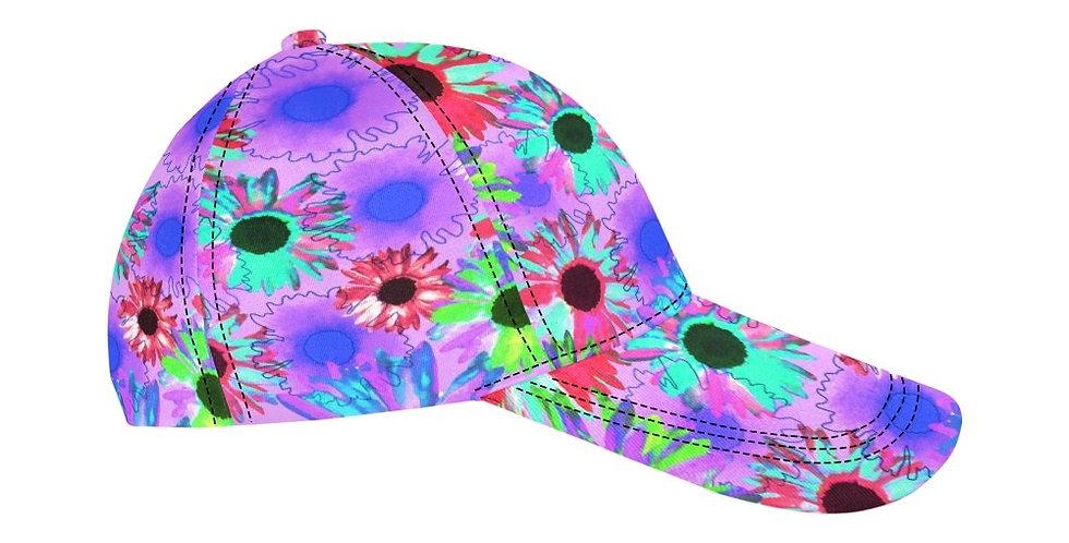 Wildflower Bright Mauve - Baseball Cap