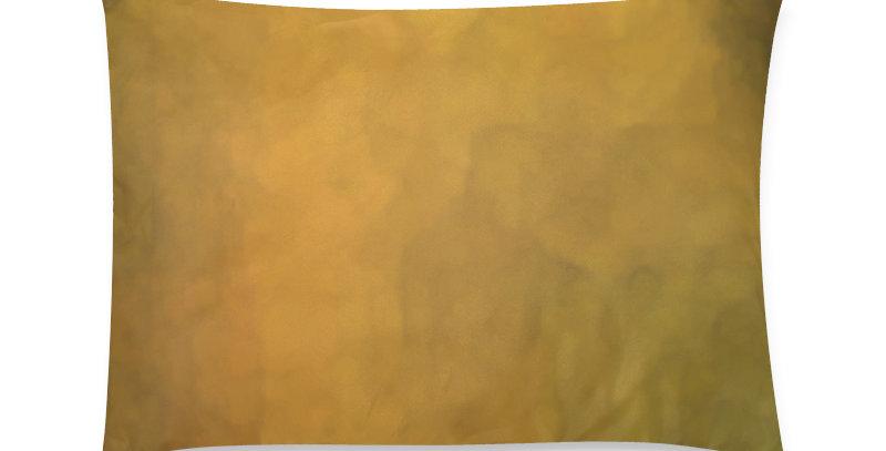Rainbow Iris Washed Yellow - Cushion Cover