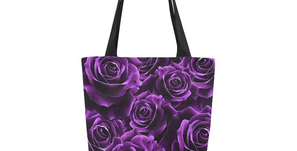 Velvet Roses Purple - Tote Bag