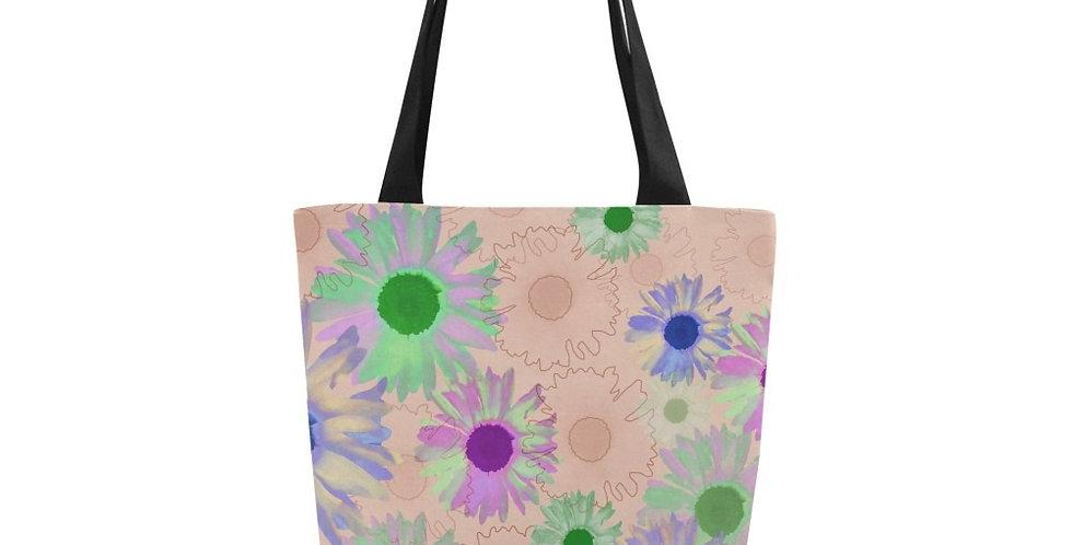 Wildflower Peach - Tote Bag