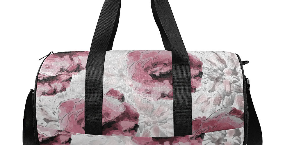 Roses and Dahlias Gym / Workout / Camping / Travel Duffel Bag