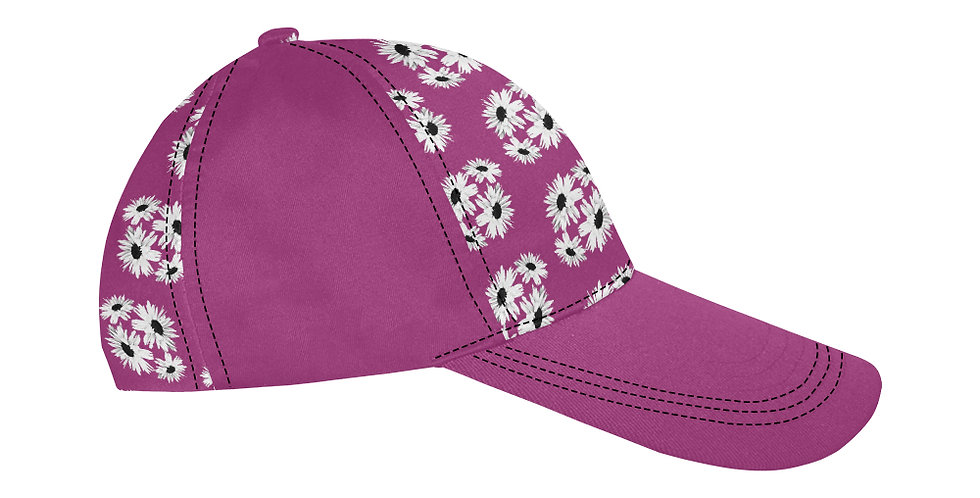 Bunch of Daisies Pink - Baseball Cap