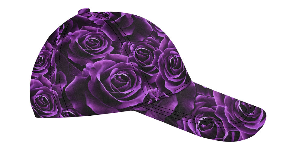 Velvet Rose Purple - Baseball Cap