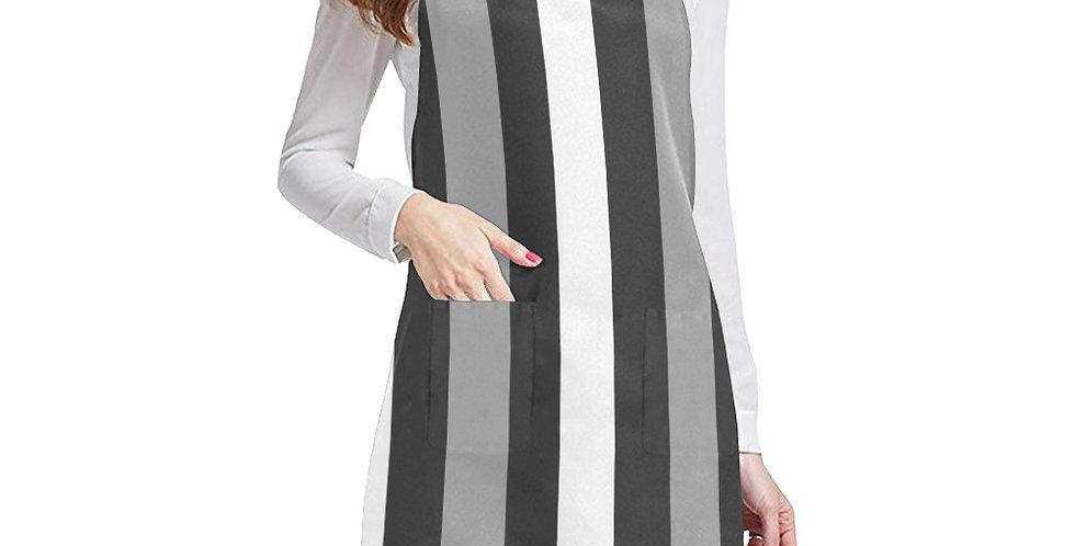Moody Stripes Apron - Adjustable