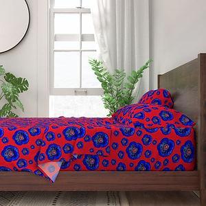 8949649-flower-power-red-dark-blue-by-po