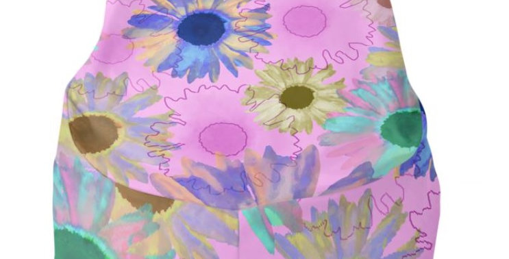 Wildflower Pink - Bean Bag Cover