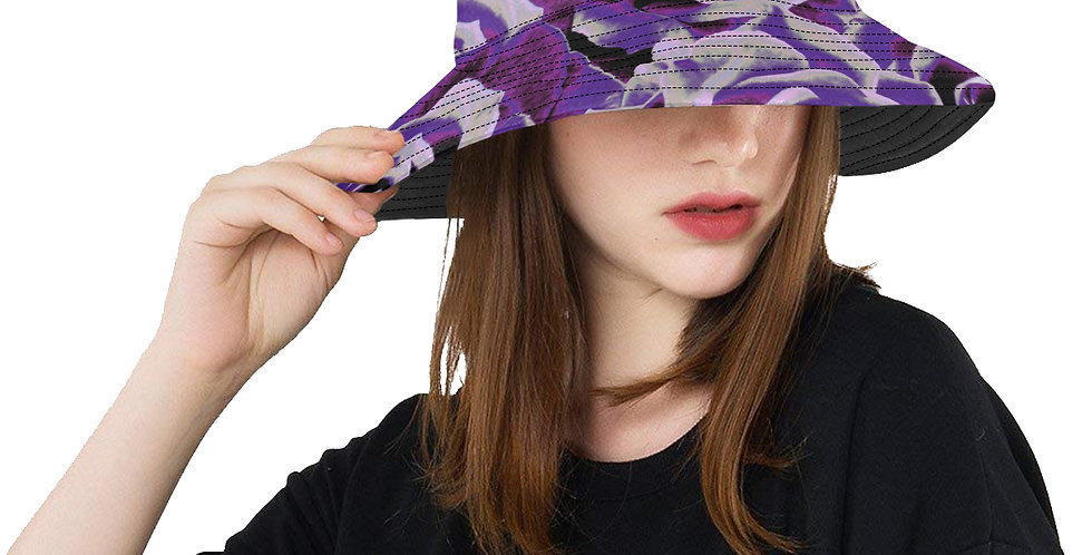 Gypsy Rose Purple Haze - Bucket Hat