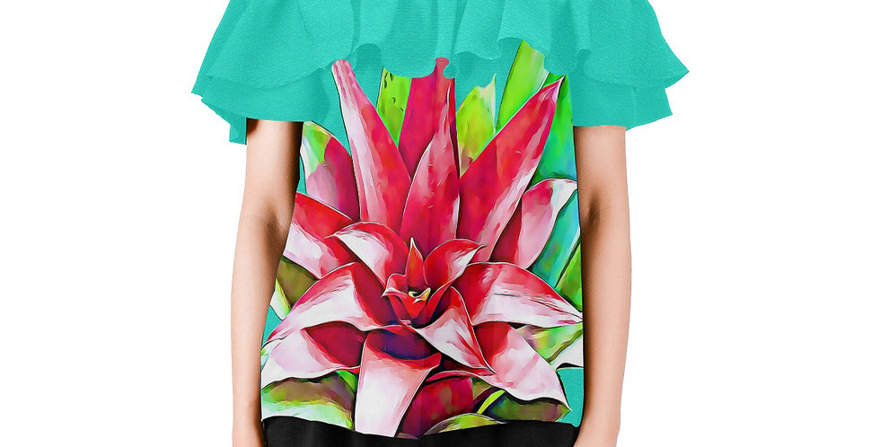 Tropical Bromance - Women's Chiffon Blouse