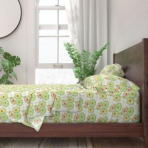 10221392-floral-frenzy-peach-green-tones