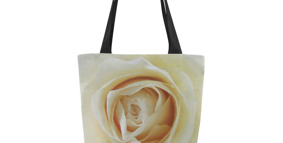 White Rose - Tote Bag