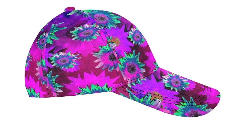 Strawflower Sizzle - Pink - Baseball Cap