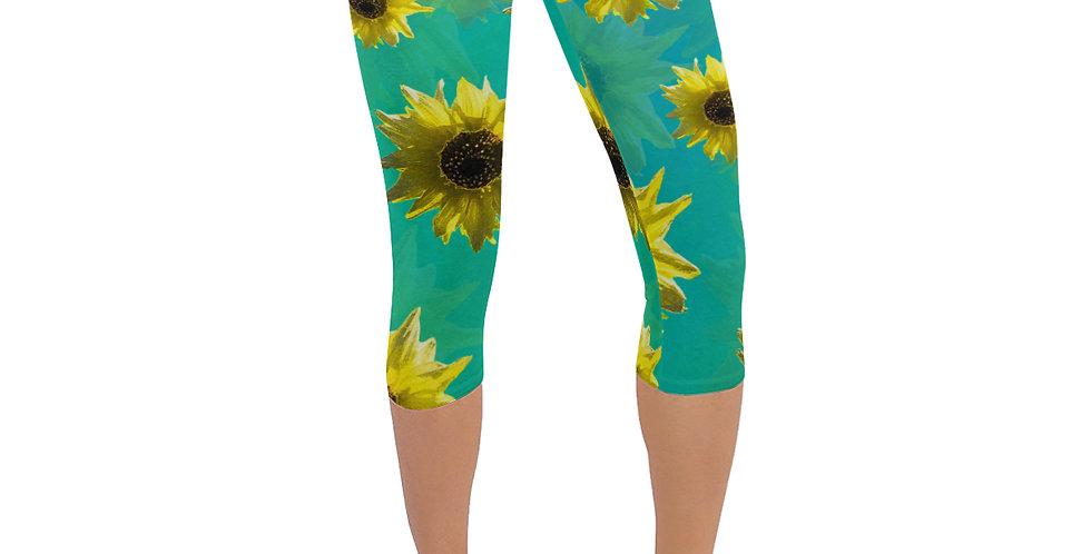 Sunflower - Leggings 3/4