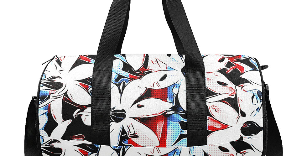 Patriotic Lily - Gym / Workout / Camping / Travel Duffel Bag