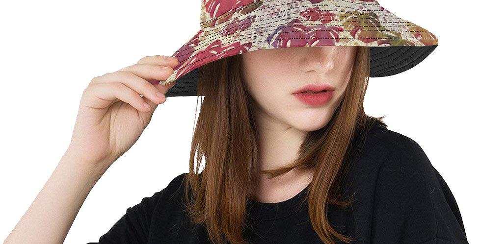 Monstera Leaves Vintage - Bucket Hat