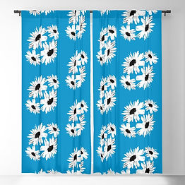 bunch-of-daisies-blue-small-print-blacko