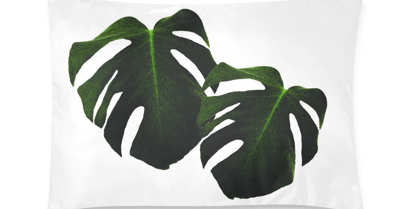 Monstera Leaves - Cushion Cover