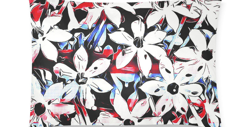 Patriotic Lily - Cushion Cover