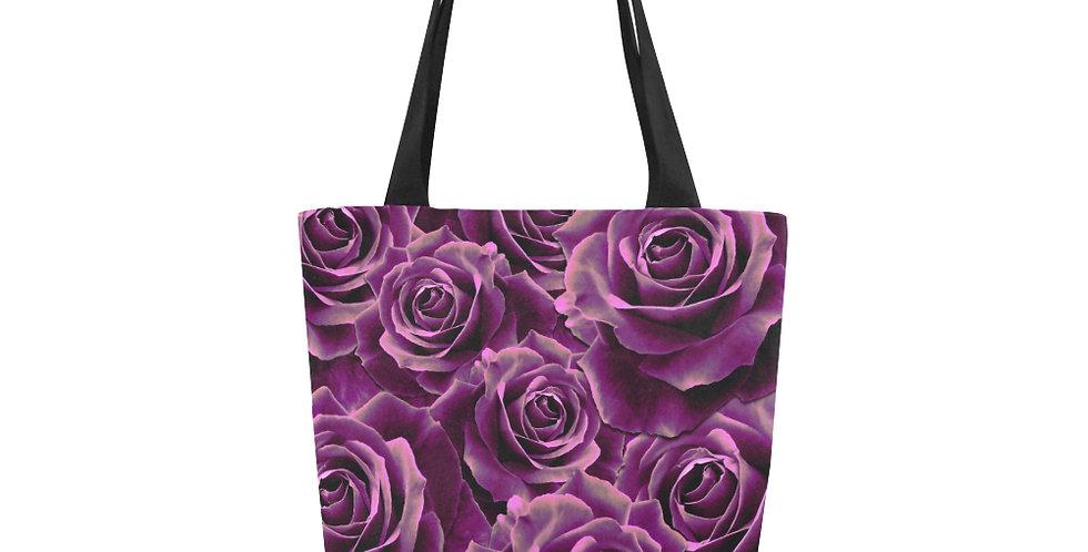 Velvet Roses Pink - Tote Bag