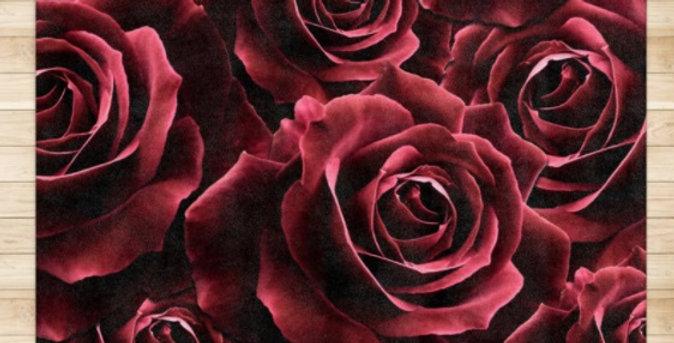 Velvet Roses Red - Rug & Runner