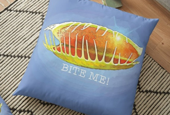 Bite Me! - Cushion Cover