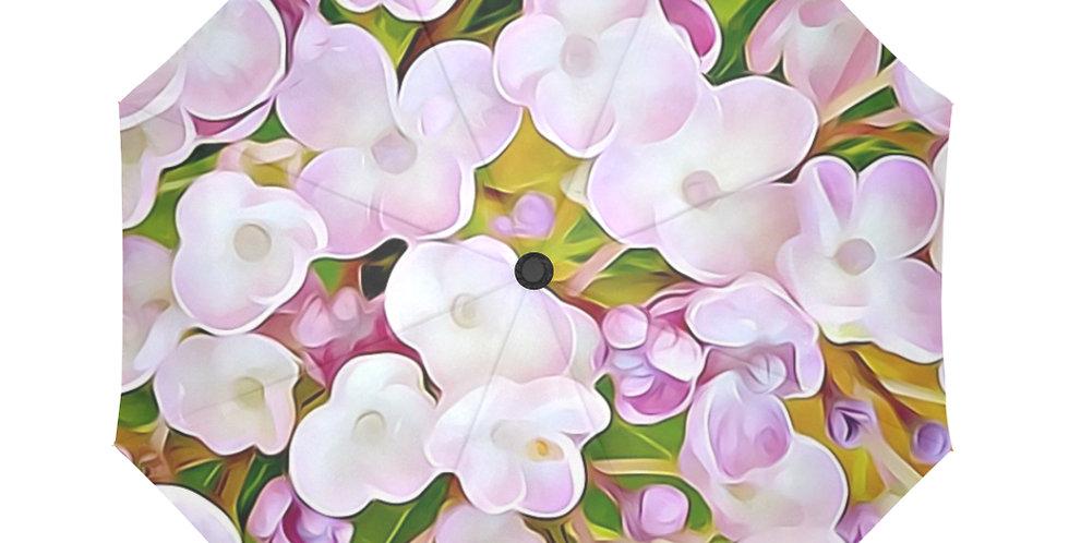 Hydrangea Confetti - Botanical Umbrella