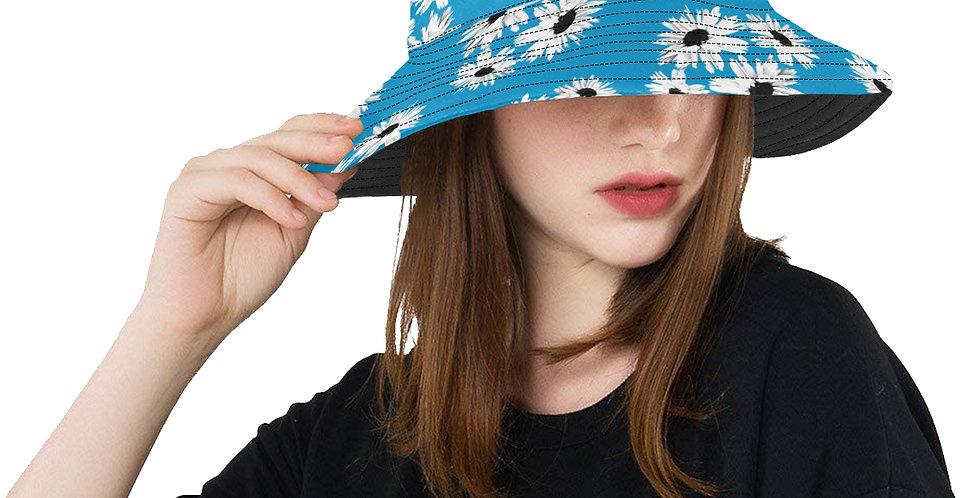 Daisy Love Blue - Bucket Hat