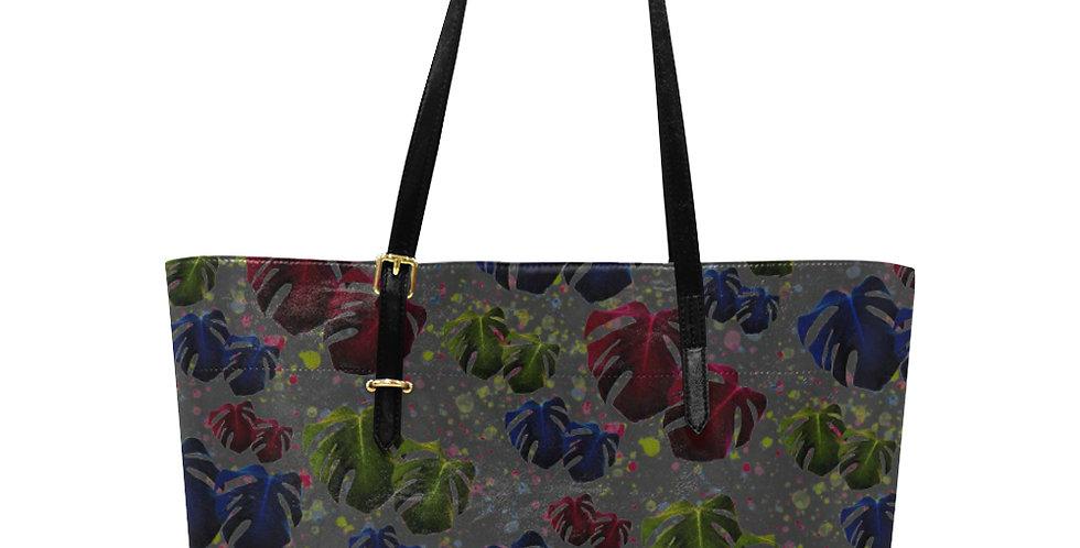 Monstera Glow - Large Tote Bag