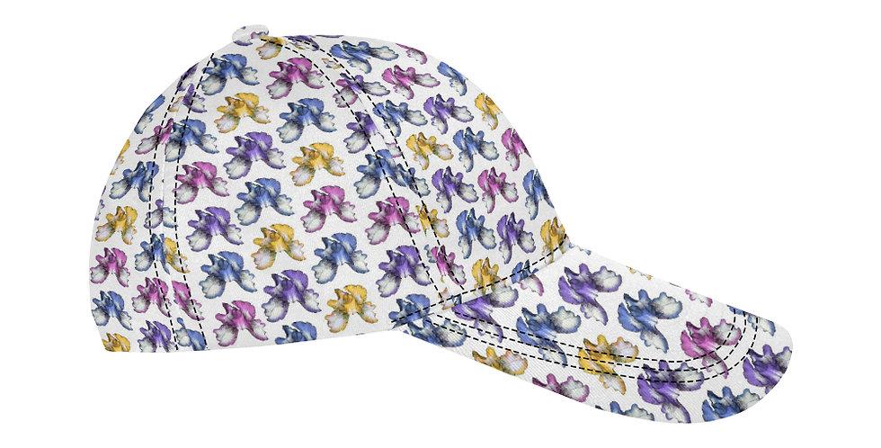 Rainbow Iris (allover print) - Baseball Cap