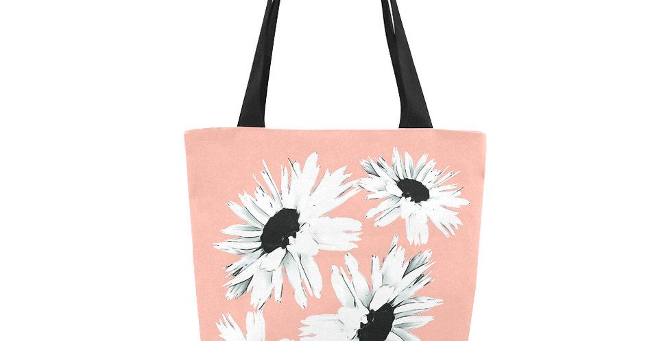 Daisy Love Peach - Tote Bag