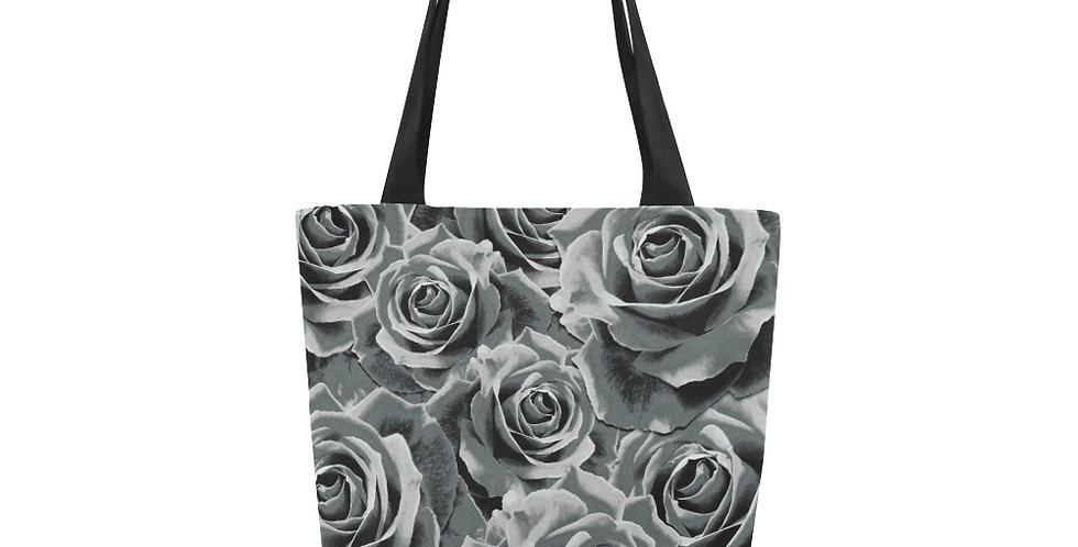 Gypsy Rose Silver Mist - Tote Bag