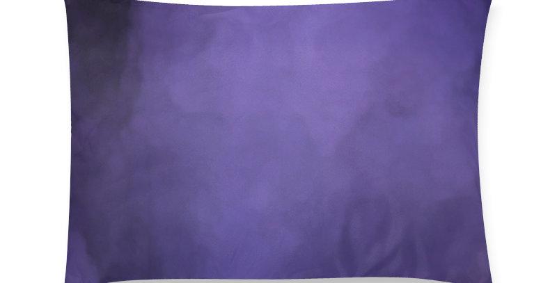 Rainbow Iris Washed Purple - Cushion Cover