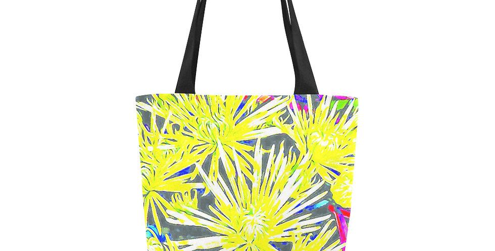 Yellow Chrysanthemums - Tote Bag