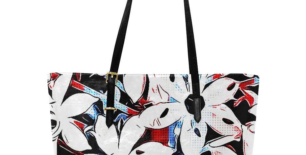 Patriotic Lily - Large Tote Bag