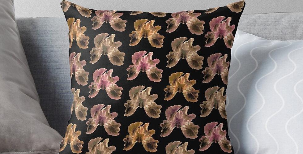 Bearded Iris Diva - Cushion Cover