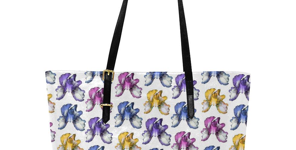 Rainbow Iris - Large Tote Bag