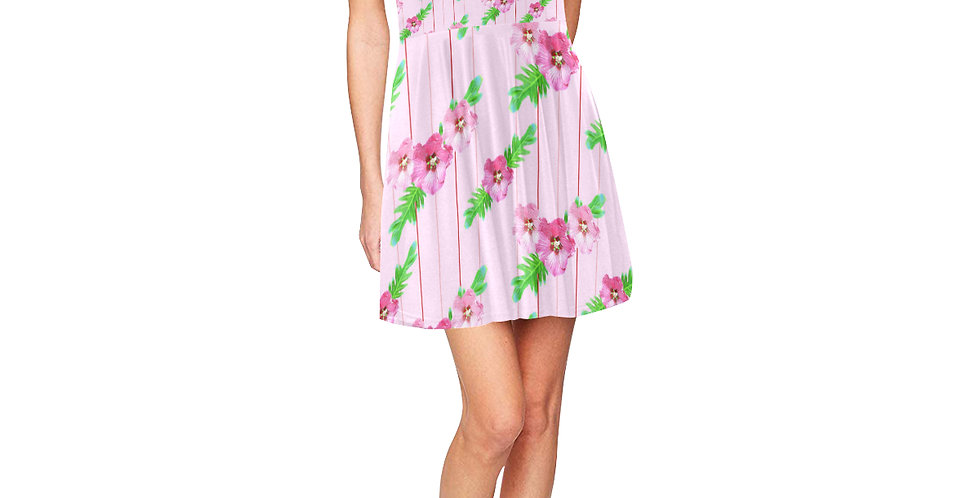 Xanadu Pink - Skater Dress
