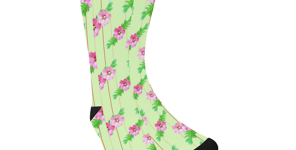 Xanadu Green - Unisex Socks (Made in Australia)