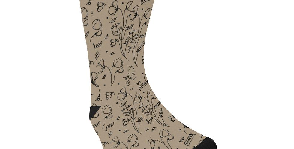 #sweetpea lust Rustic - Unisex Socks (Made in Australia)